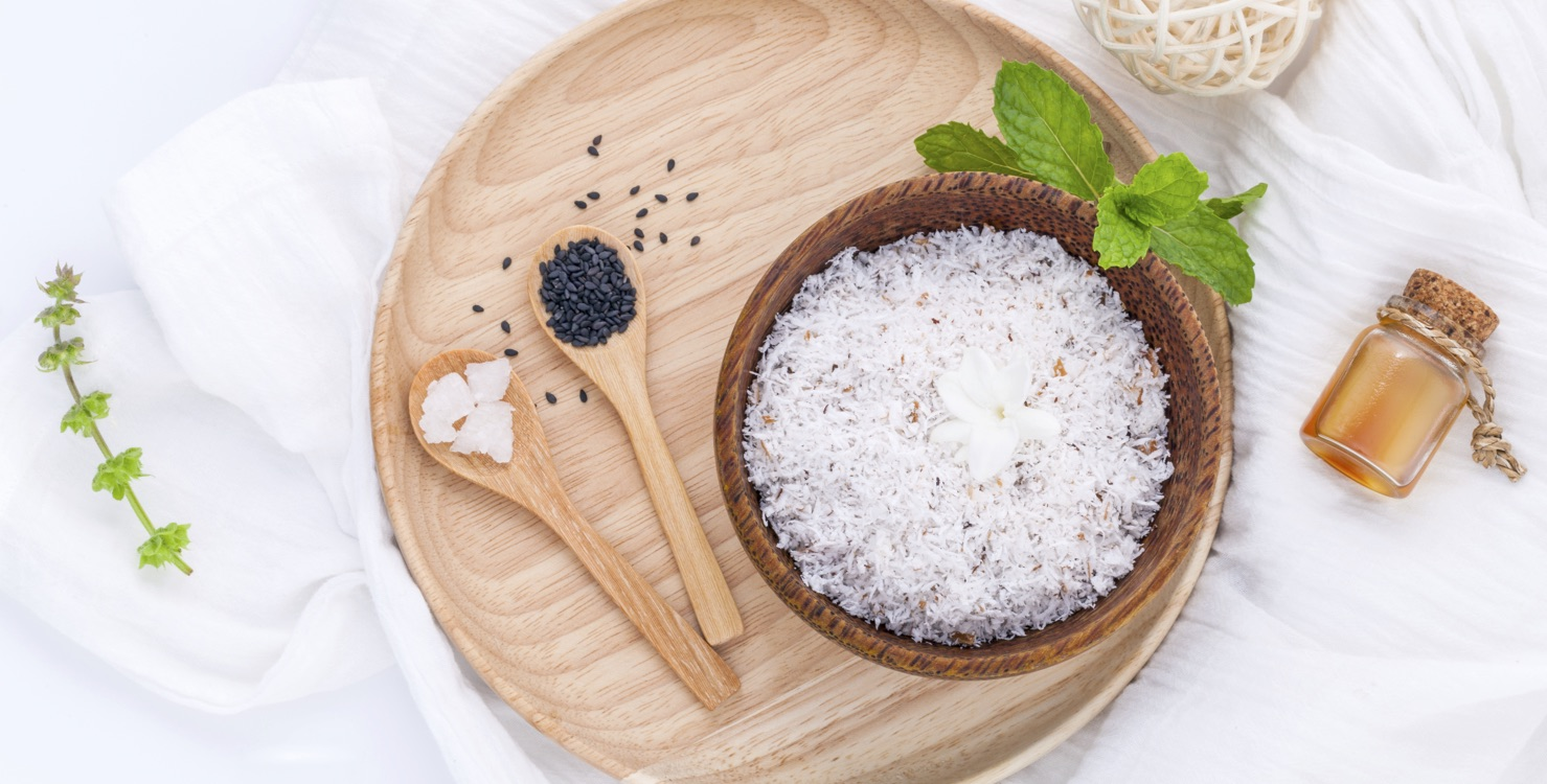 Salt and rice
